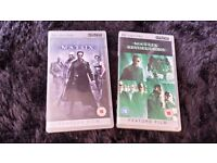 PSP Matrix and The Matrix Reloaded UMD VIDEO Movies