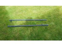 Roof Bars for cars with threaded anchor points. used on a Ford CMax (2003-2010 models)