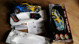 Nissan 370z, Radio controled car R/C, R / C, battery, touch remote, box, manual