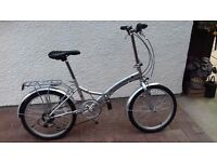 Folding Bicycle For Sale(Used only twice).