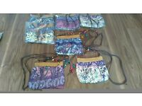 Lot of 7 NEW Ladies Hand Bags/Clutch Bags/Shoulder Bags, clearance bags - £15