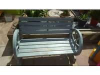 garden bench needs new paint