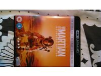 The Martian 4K multi disc