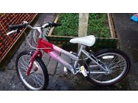 Girls Raleigh Bicycle. Like New £60