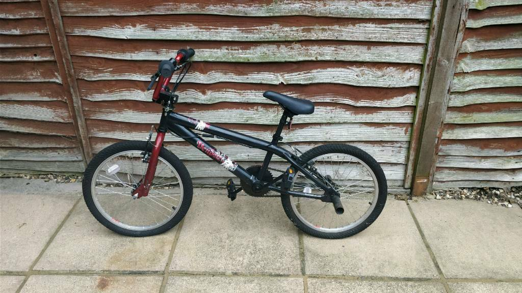 Childs BMX bike with back bars