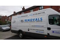 Cheap man and van removals, waste clearance, rubbish and junk collection - Radcliffe