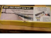 Pro point gun kit in new condition