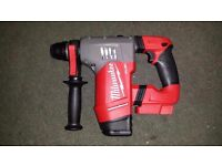 "Milwaukee M18 FUEL 1-1/8"" SDS Plus Rotary Hammer (Bare Tool) 2715-20 New Latest model 2017 Brushless"