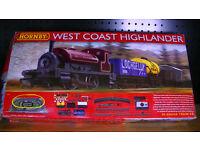 Hornby ( West Coast HIghlander) Train Set BARGIN AT £50 ONO