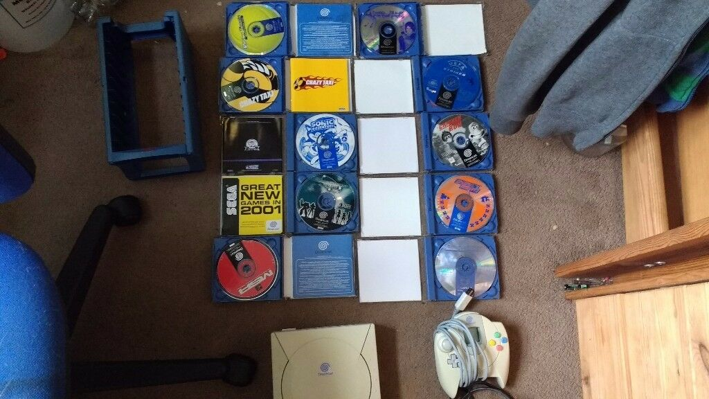 Sega Dream cast With Lots of Games