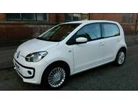 2016 VW Up! 1.0 5dr.. Only 6,000 miles. £20 per year Road Tax. Corsa yaris clio