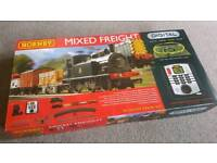 New Hornby Mixed Freight Digital Train Set