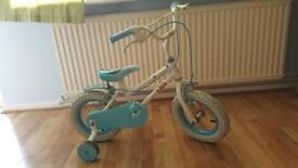 Cinderella kids bike