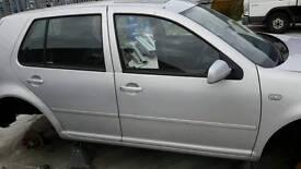 Mk4 golf tdi Satin silver parts bonnet wing doors bumper