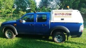Ford Ranger truck, crew cab, fully kitted out for work. 2011 - PRICE REDUCED