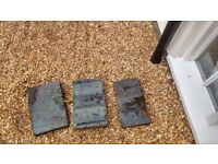 Reclaimed saddleback bricks