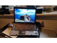 hp Compaq 6910p windows 7 150g hard drive 2g memory dvd drive wifi battery holds a good charge