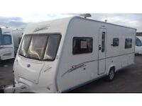 Fixed Bed 2006 Bailey Senator Indiana Series 5. 4 berth. Motor Mover Awning All Accessories for Hols