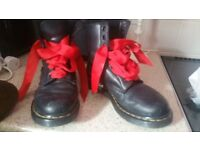 Black leather docs