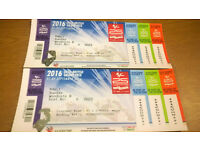 MotoGP 2016 Silverstone 2 x Adult Ticket Sunday 4th Sept only
