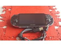 Like new PS VITA + 4GB MEMORY CARD and CHARGER