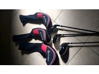 Fazer firepower drivers 1,3 & 3 hybrid all with headcovers