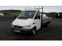 MERCEDES SPRINTER 313 CDI DROPSIDE##LONG MOT##