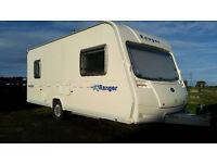 Bailey Ranger 500/5 series 5 2007 and 18ft NR Pullman awning (Green / grey) £6500 (no VAT)