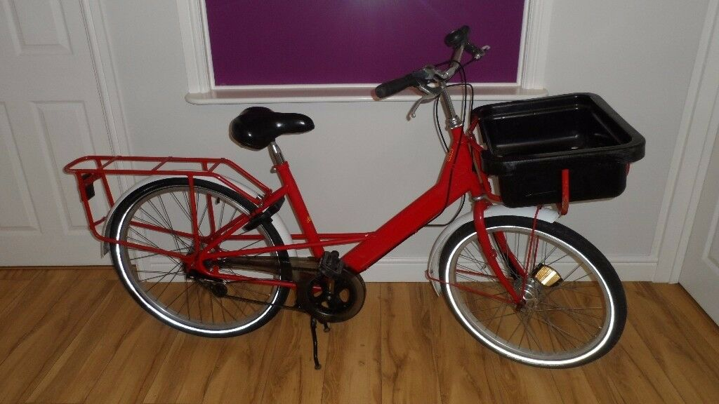 PASHLEY EX ROYAL MAIL POSTMANS BIKE DELIVERY BIKE OR STAGE PROP DISPLAY ETC