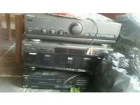 Technics stack cd player system