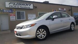 2012 Honda Civic NO HST 1 WEEK ONLY-LX-OFF LEASE HONDA FINANCIAL