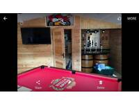 Pool table full size great condition slate top
