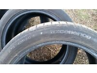 Good but used SUV tyres from a Range Rover Sport.