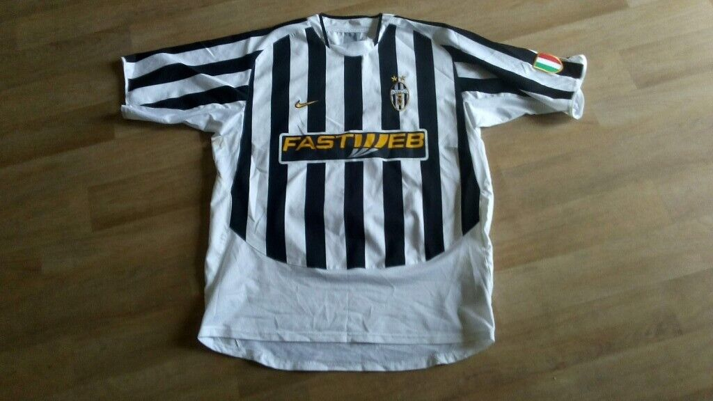 cheap for discount 76c63 5dc4f juventus football shirt nike fastweb XL | in Chesterfield, Derbyshire |  Gumtree