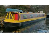60ft Narrowboat. 'Sparkle' in London