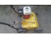 Garden master scarifier Honda GX engine Grass De-Thatcher power rake