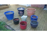 Assorted Garden Pots - All Frost Proof