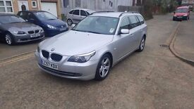10,2007 BMW 520d Touring 2.0 diesel,automatic,172k miles,whits full service history