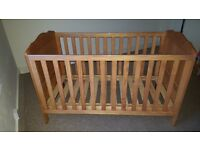 Mothercare baby cot/junior bed