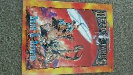 Deadlands role playing manuals