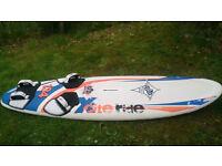 JP Australia Xcite ride 134 ( Full Wood Sandwich Technology) windsurf board