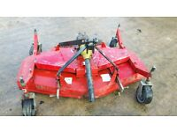 Mower Topper for Micro Tractor