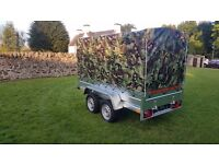 New Trailer 8.7 x 4.1 twin axle and cover