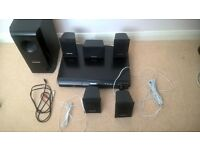 PANSONIC SA PT-160 Home Theatre System 5:1 + Sub woofer, remote