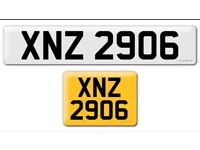 XNZ 2906 private Cherished personal personalised personal registration plate number