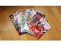 Bundle of Arsenal magazines