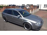 Audi A4 1.9tdi sline sports auto full leathers swap part ex