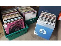 "Over 500 House / Funky House / Deep House Vinyl Records 12"" LP Collection, Dance Music Job Lot. DJ"