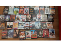 job lot of approx 110 dvds