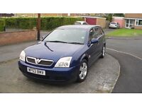 VAUXHALL VECTRA CLUB ESTATE 1.8i - 2004 model registered November 2003 - well below average mileage.